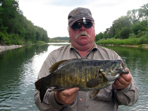 A Trophy Smallmouth from the Saugeen