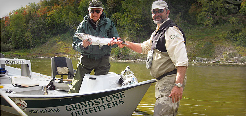 Owner/Guide John Valk on the river