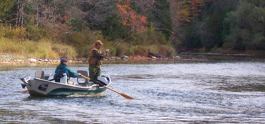Fly Fishing for Saugeen River Steelhead